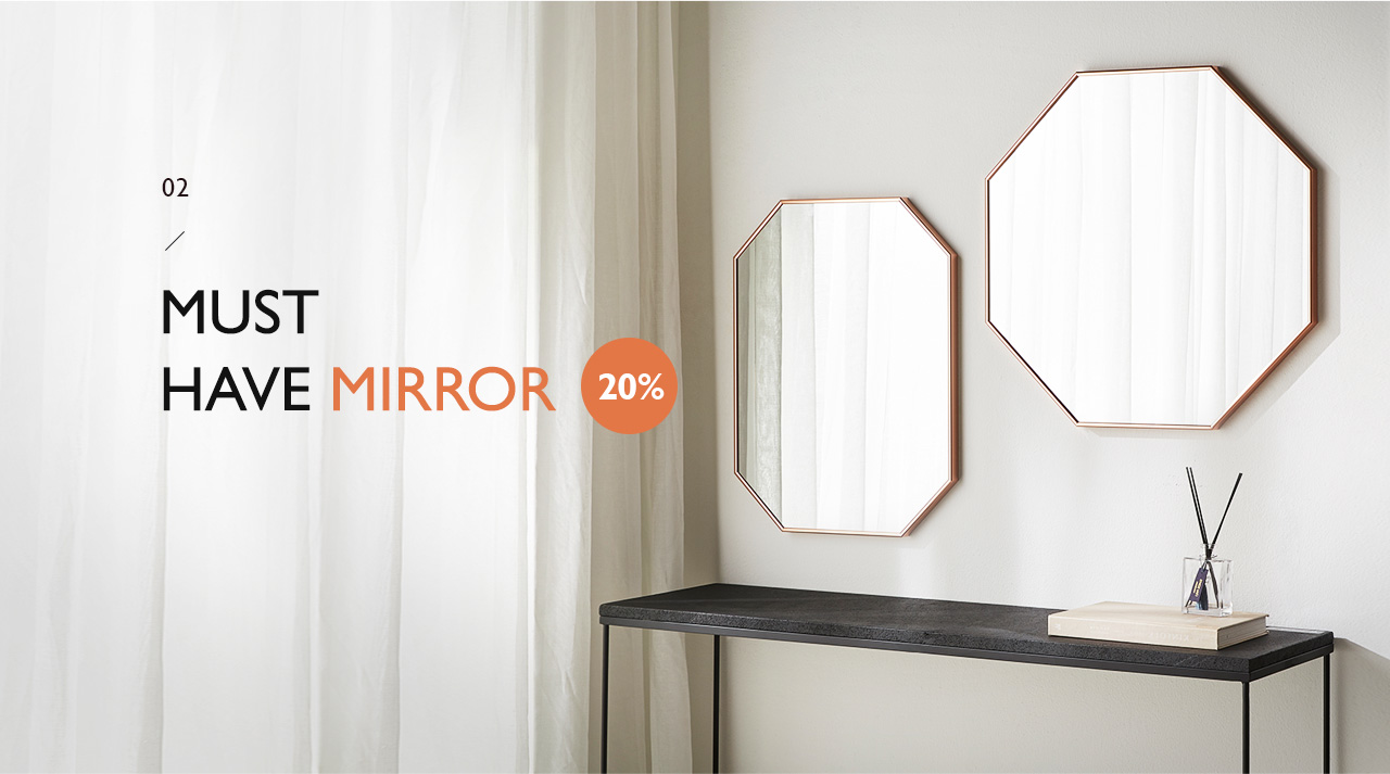 MUST HAVE MIRROR 20%